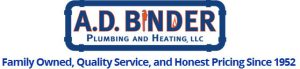 A.D. Binder Plumbing and Heating, LLC - Family Owned, Quality Service, and Honest Pricing Since 1952